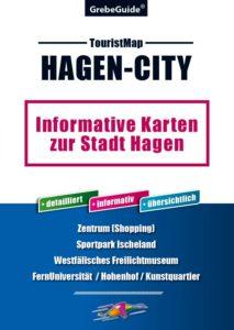 TouristMap Hagen-City, Stadtplan, Ortsplan, Karte, Hagen, Stadtplan, Zentrum, grebemaps, Ulrich Grebe Verlag